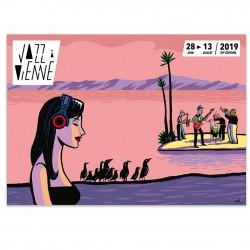 Affiche Jazz à Vienne 2019
