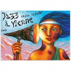 Affiche Jazz à Vienne 2014