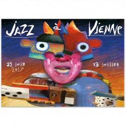 Affiche Jazz à Vienne 2017